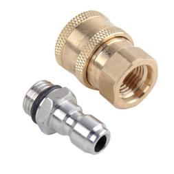 "1/4"" Quick Release Connector Coupler Fitting For High Pressu"