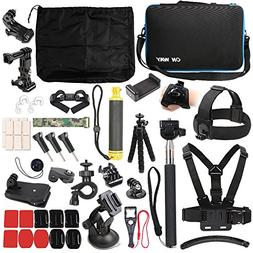 50 in 1 Basic Common Action Camera Outdoor Sports Accessorie