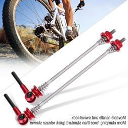 1 Pair Bicycle Skewers Ultralight Quick Release Skewers for