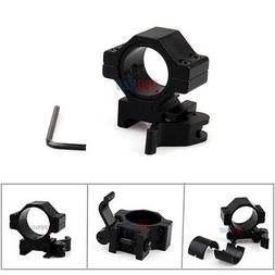 "1"" QD Quick Release Scope Mount For Rifle Picatinny Rail,Fla"