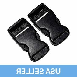 "1"" Quick Release Buckle, Side Release Clip, 1 Inch, 2 Pcs Sh"