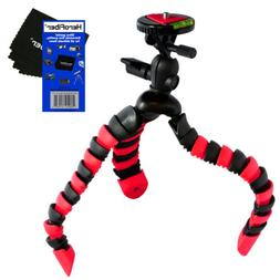 """12"""" Flexible Wrapable Legs Tripod with Quick Release Plate a"""