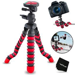 "12"" Inch Flexible Tripod with Quick Release Plate for Niko"