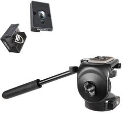 Manfrotto 128RC Micro Fluid Head with Two Replacement Quick