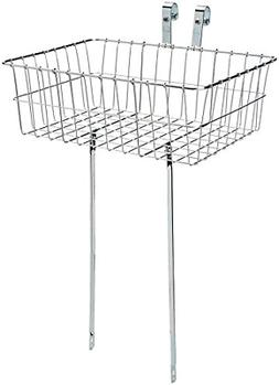 Wald 139 Front Bicycle Basket 18 x 13 x 6, Silver