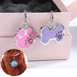 15 Styles Dog Tags Engraved <font><b>Cat</b></font> Puppy Pe