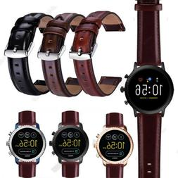 18 20 22mm retro leather watch band