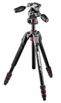 Manfrotto 190go! M-Series 4-Section Twist Lock Aluminum Trip