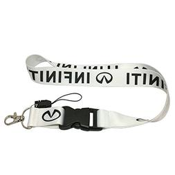 1pcs White Color USA Ship New Quick Release Neck Strap Lanya