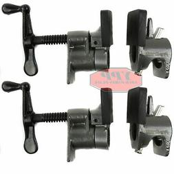 "2 Pack 3/4"" Wood Gluing Pipe Clamp Quick Release HD Wide Bas"