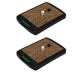 Sunpak 2 Pack Quick Release Plate for 7000TM and 6601TM #620