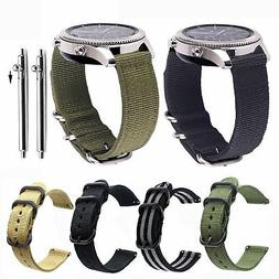 20 22mm Quick Release Nylon Canvas Fabric Band Strap For Sam