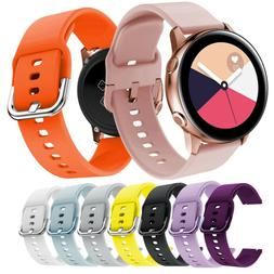 20mm Quick Release Silicone Sports Strap Band For Samsung Ga