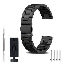 20mm Watch Band, amBand Quick Release Premium Solid Stainles
