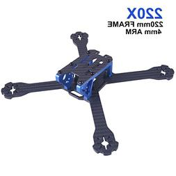 220mm Carbon Fiber FPV Racing RC Drone Frame Kit with 3mm Ar