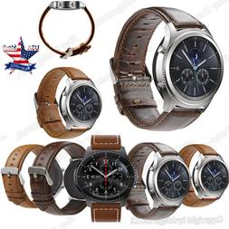 Quick Release Leather Watch Strap For Samsung Galaxy Watch 4