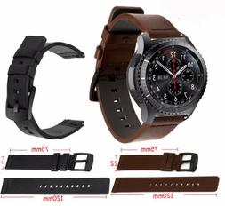 22MM Quick Release Retro Genuine Leather Band For HUAWEI WAT