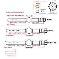 24mm Quick Release Silicone Watch Strap Replacement Watch Ba