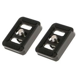 2Pack Aluminum Quick Release QR Plate for SIRUI TY-C10 T005/