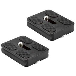 Neewer 2pcs PU-50 50mm Universal Quick Shoe plate for Camera