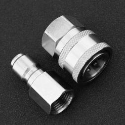 "2x 3/8"" Female Male Quick Release Adapter Connector Kit for"