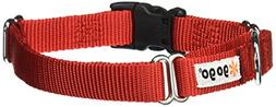 GoGo Pet Products GoGo 3/4-Inch Martingale Dog Collar, Mediu