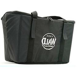 WALD 3133NYLBAG 3133 INSULATED BASKET BAG, BLACK