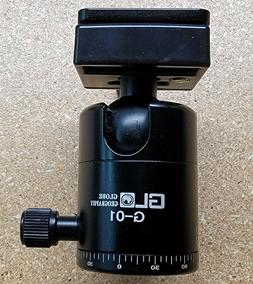 360 Degree Mini Tripod Ball Head Ball head Compass with Quic