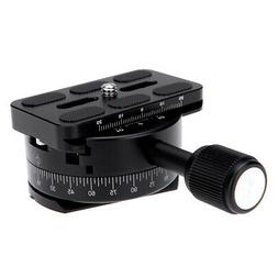 Andoer 360 Degree Panoramic Panning Base Head Clamp 1/4 Quic