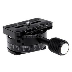 Andoer 360° Panoramic Panning Base Head Clamp 1/4 Quick Rel