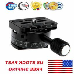 Andoer 360 Degree Panoramic Panning Base Head Clamp with 1/4