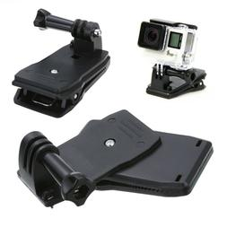 360° Rotating Backpack Quick Release Clip Clamp Mount for G