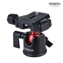 360° Tripod Monopod Ball Head Quick Release Plate Kit for D