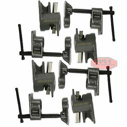 "4 PC 1/2"" Wood Gluing Pipe Clamp Quick Release Heavy Duty Wi"