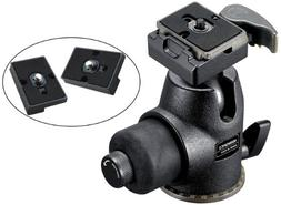 Manfrotto 468MGRC2 Hydrostatic Ball Head with RC2 and Two Re