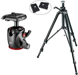 Manfrotto 475B Aluminum Pro Geared Tripod Kit with XPRO Magn