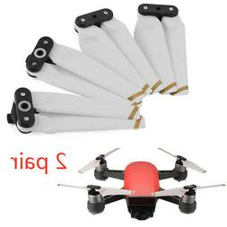 4x White Easy-install Quick-release Foldable Propeller For D