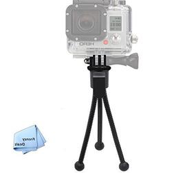 "5"" Inch Mini Tripod with Flex, Spider Legs for All GoPro H"