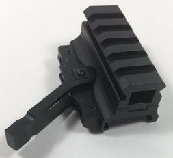 5 Slot Quick Release Medium Riser Co-Witness Optics Mount We
