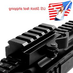 """5 Slots QD 3/5"""" Riser Quick Release Mount Adapter for 20mm P"""