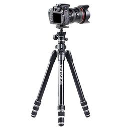 ASHANKS 55'' Camera Travel Tripod and Monopod Lightweight Al