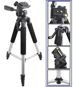 "Pro - Series 57"" Tripod With Case For Sony HDR-CX455 HDR-CX6"