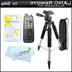 57 Tripod with Case + 8 Function LANC Remote Control for Son