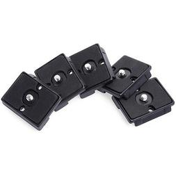 5pcs Quick Release Plate For Manfrotto 200PL-14 RC2 System 3