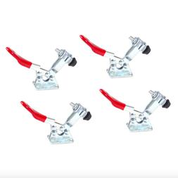 Powertec 60 lbs Horizontal Toggle Clamp Quick Release 4 Pack