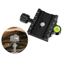 Neewer 60mm Quick Release Plate QR Clamp 3/8-inch with 1/4-i