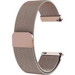 Fullmosa 7 Colors for Quick Release Watch Strap, Milanese Ma