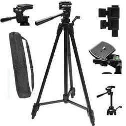 """75"""" PRO TRIPOD WITH QUICK RELEASE FOR CANON EOS REBEL T1 T2"""