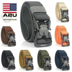 8 Colors Magnetic Tactical Belt Quick Release Buckle Nylon F