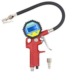 AULLY PARK Tire Inflator with Digital Tire Pressure Gauge 0-